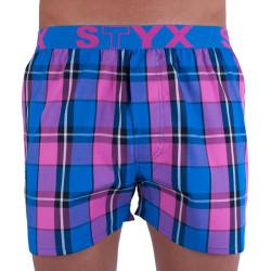 Pánské trenky Styx sportovní guma vícebarevné (B720)