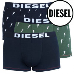 3PACK pánské boxerky Diesel vícebarevné (00SAB2-0BATE-E4030)