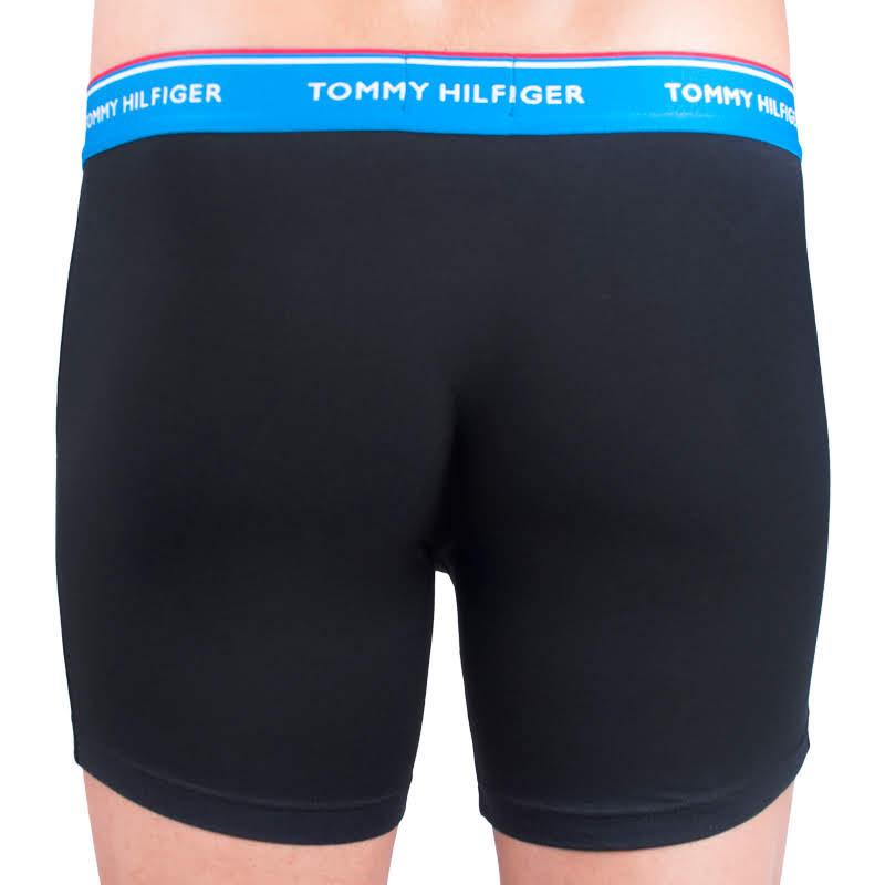 3PACK pánské boxerky Tommy Hilfiger černé (UM0UM00010 064) dbf141c036