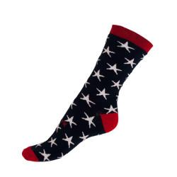 Sokolovská Ponožky Styx crazy modré s hvězdami (H330)