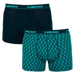 2PACK pánské boxerky HEAD vícebarevné (881002001 676)