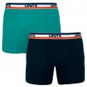 2PACK pánské boxerky Levis vícebarevné (985016001 315)