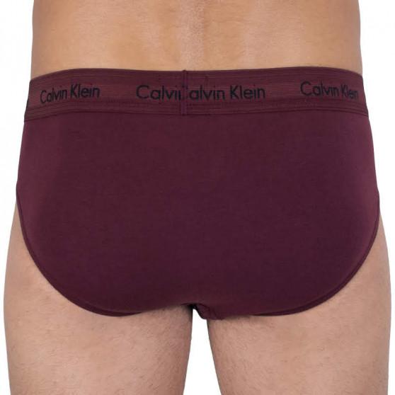 3PACK pánské slipy Calvin Klein vícebarevné (U2661G-RSZ)
