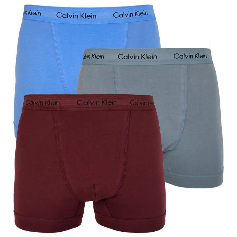 af710eaf60 3PACK pánské boxerky Calvin Klein vícebarevné (U2662G-RSZ) M ...