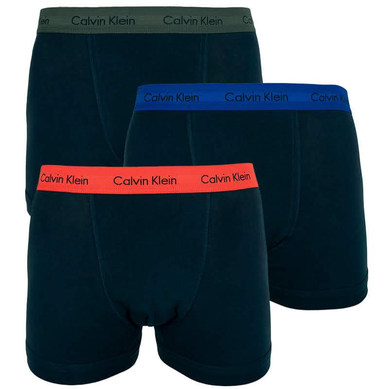 3PACK pánské boxerky Calvin Klein černé (U2662G-QXC) S