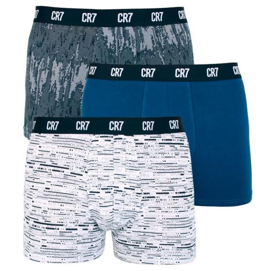 3PACK pánské boxerky CR7 vícebarevné (8110-49-700)