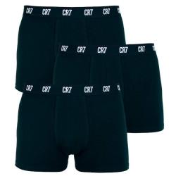 3PACK pánské boxerky CR7 černé (8100-49-900)