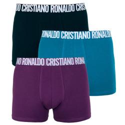 3PACK pánské boxerky CR7 vícebarevné (8100-49-649)