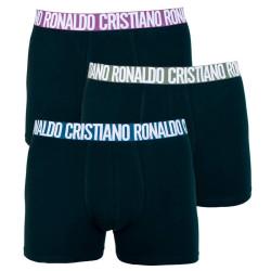 3PACK pánské boxerky CR7 černé (8100-49-648)