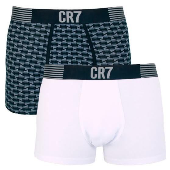 2PACK pánské boxerky CR7 vícebarevné (8302-49-535)
