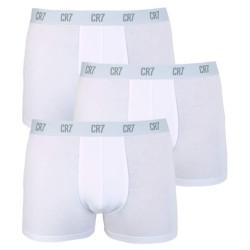 3PACK pánské boxerky CR7 bílé (8100-49-100)