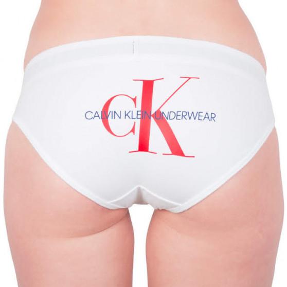 Dámské kalhotky Calvin Klein bílé (QF4994E-100)