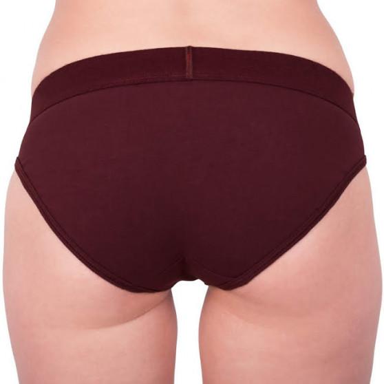 Dámské kalhotky Calvin Klein červené (QF4921E-XP2)