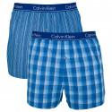 2PACK pánské trenky Calvin Klein slim fit vícebarevné (NU1544A-LGW)