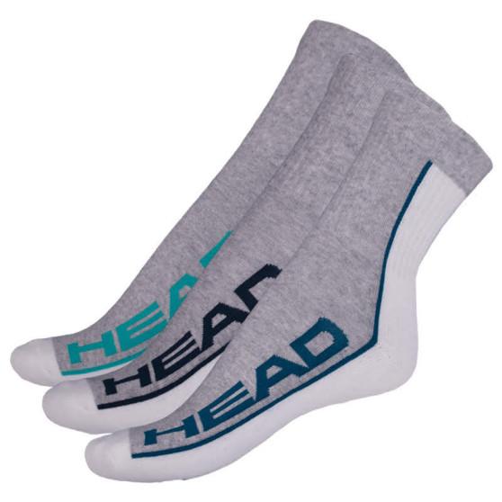 3PACK ponožky HEAD vícebarevné (781010001 218)