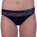 Dámská tanga Tommy Hilfiger tmavě modrá (UW0UW01394 416)