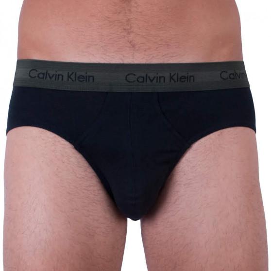 3PACK pánské slipy Calvin Klein černé (U2661G-QXC)