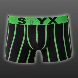 Pánské boxerky Styx sportovní guma nadrozměr vícebarevné (R668)