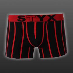 Pánské boxerky Styx sportovní guma nadrozměr vícebarevné (R666)