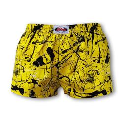 Dětské trenky Styx art klasická guma Jáchym žlutý (J751)