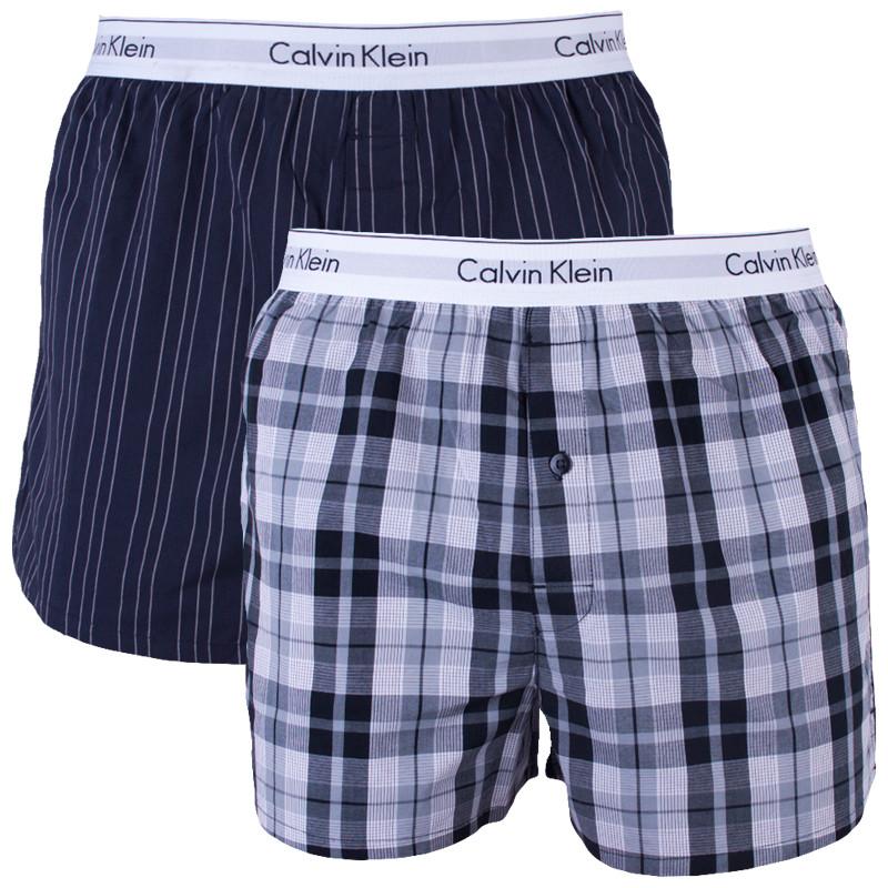 21069429bf 2PACK pánské trenky Calvin Klein vícebarevné (NB1396A-JKZ) L