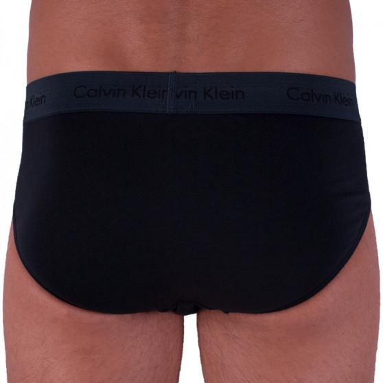 3PACK pánské slipy Calvin Klein černé (U2661G-SXZ)