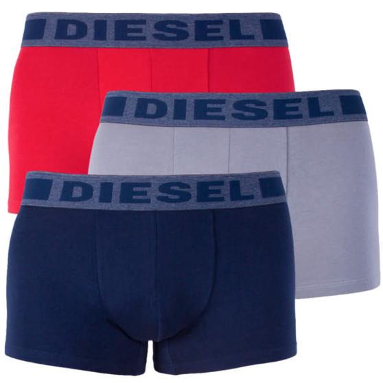 3PACK pánské boxerky Diesel vícebarevné (00SAB2-0BATB-E4214)