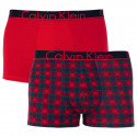 2PACK pánské boxerky Calvin Klein vícebarevné (NB1414A-YHR)