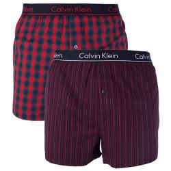 2PACK pánské trenky Calvin Klein vícebarevné (NB1691A-JHW)