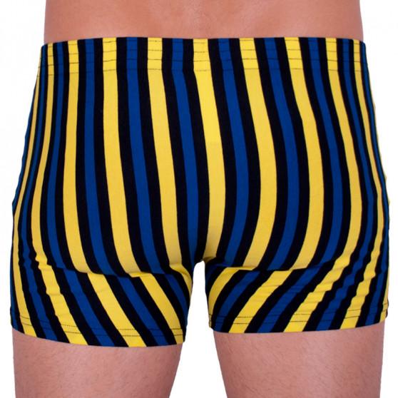 Pánské boxerky Styx klasická guma vícebarevné (Q860)