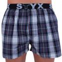 Pánské trenky Styx sportovní guma vícebarevné (B708)