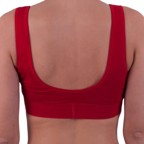 Dámská podprsenka Calvin Klein červená (QF4918E-RYM)