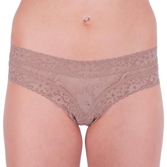 Dámské kalhotky Victoria's Secret hnědé (ST 11130409 CC 65H8)