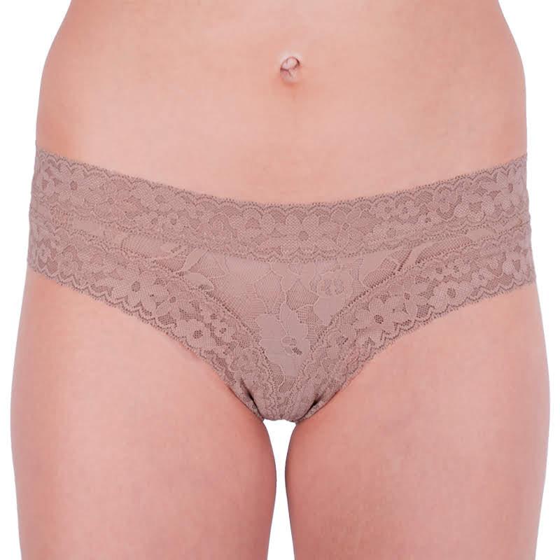 Dámské kalhotky Victoria's Secret hnědé (ST 11130409 CC 65H8) S