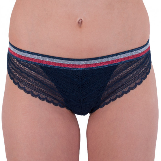 f0ae928f86f Dámské kalhotky Tommy Hilfiger tmavě modré (UW0UW01045 416)