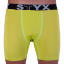 Pánské funkční boxerky Styx zelené (W964)