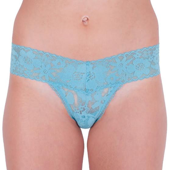 Dámská tanga Victoria's Secret modrá (ST 11133202 CC 3Y9W)