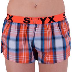 Dámské trenky Styx sportovní guma vícebarevné (T601)
