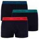 3PACK pánské boxerky Calvin Klein černé (U2664G-KKH)