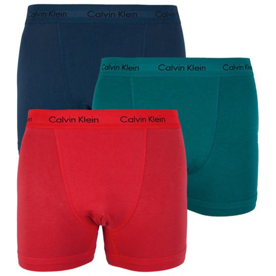 3PACK pánské boxerky Calvin Klein vícebarevné (U2662G-JLK)