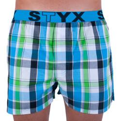 Pánské trenky Styx sportovní guma vícebarevné (B721)