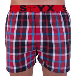 Pánské trenky Styx sportovní guma vícebarevné (B723)