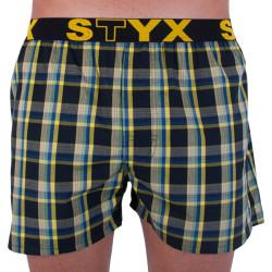 Pánské trenky Styx sportovní guma vícebarevné (B725)
