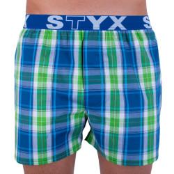 Pánské trenky Styx sportovní guma vícebarevné (B726)
