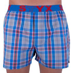 Pánské trenky Styx sportovní guma vícebarevné (B727)