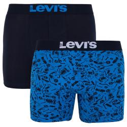 2PACK pánské boxerky Levis vícebarevné (985028001 647)