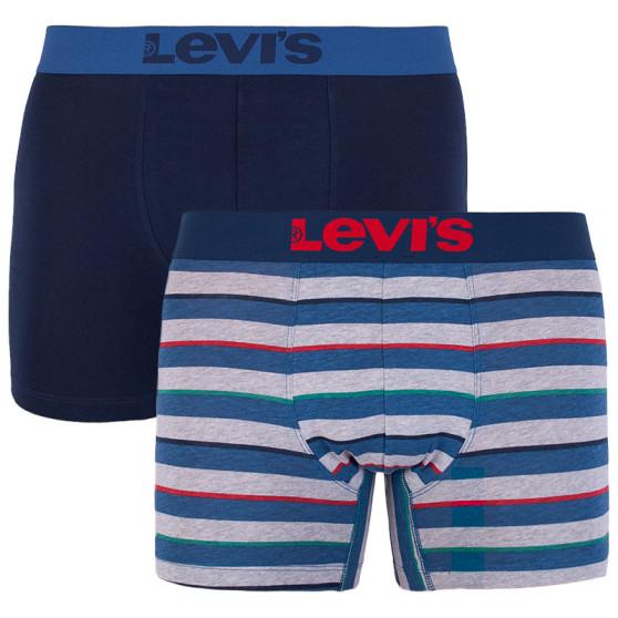 2PACK pánské boxerky Levis vícebarevné (985020001 178)