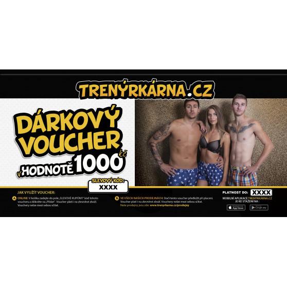 Elektronický voucher 1000,- (zaslání pouze e-mailem)