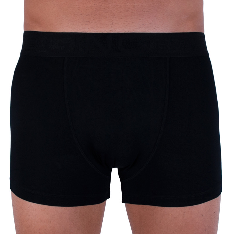 Pánské boxerky Gino bambusové černé (73089) M