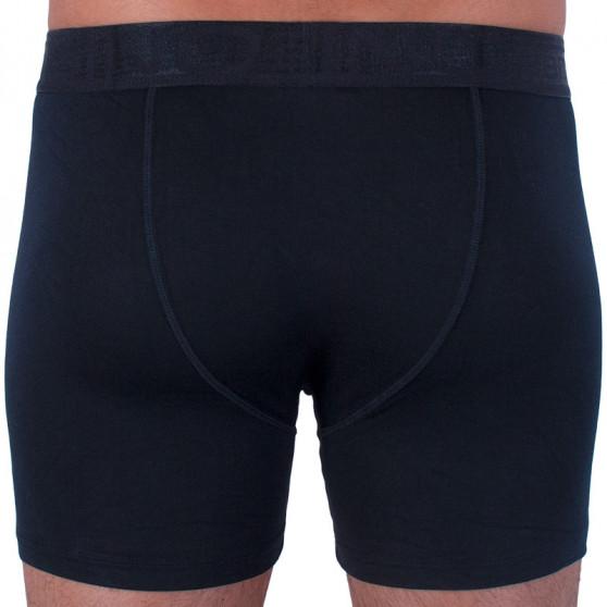 Pánské boxerky Gino černé (74117)